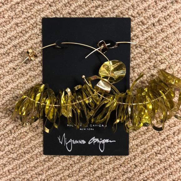 50b2e8745 mignonne gavigan Jewelry   Lola Hoop Earrings In Gold   Poshmark